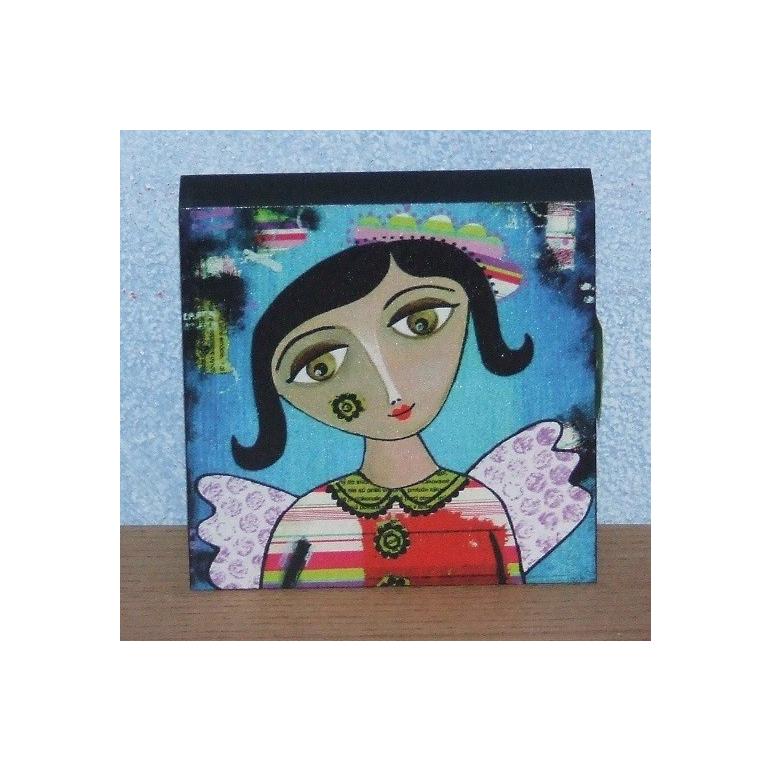 """Obrázok Anjel """"modrý"""" Silvica Art"""