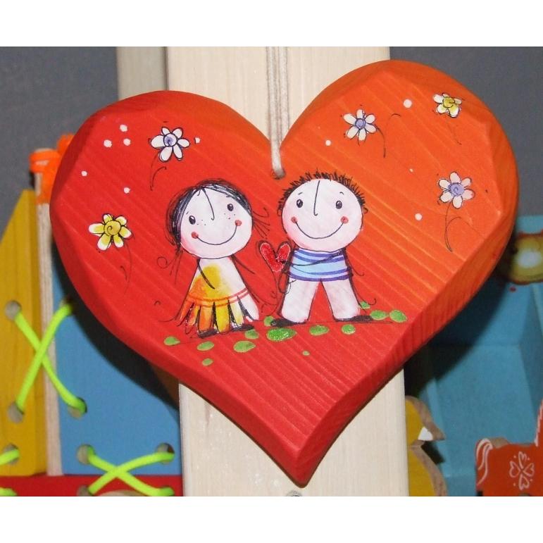 Srdce masív stredné (červené)