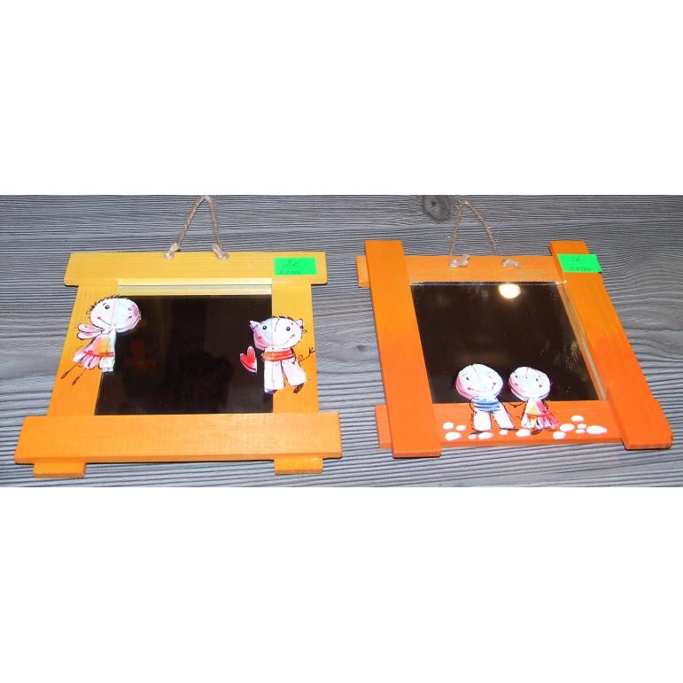 Zrkadlo malé (oranžové)