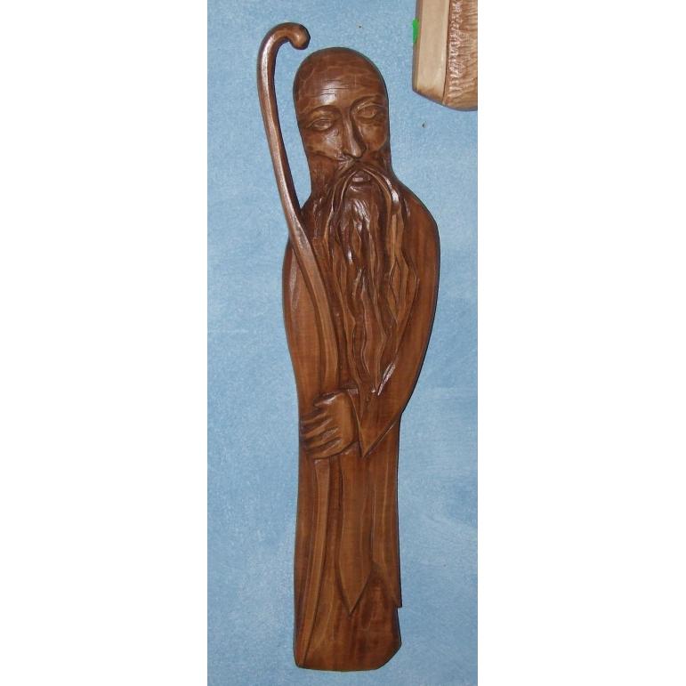 Wooden statue (Récky)