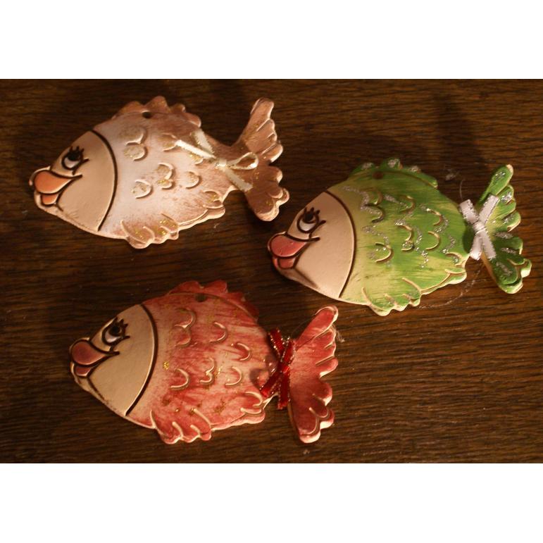 Vianočné ozdoby (ryby)