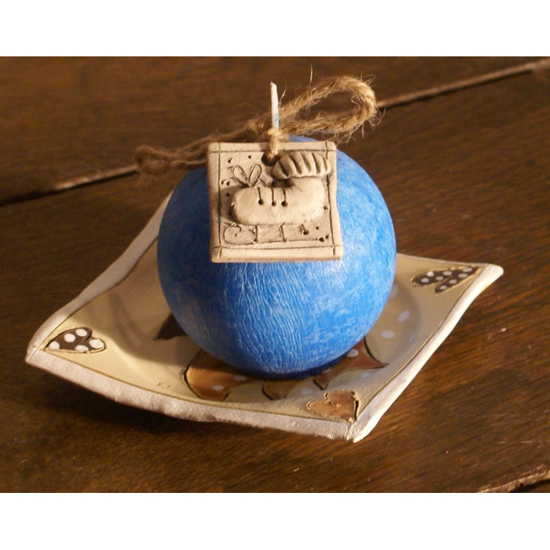 Candle ball R60 (blue)