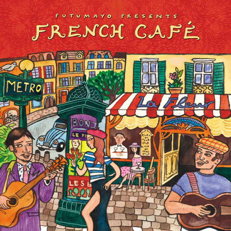 CD French Café nové