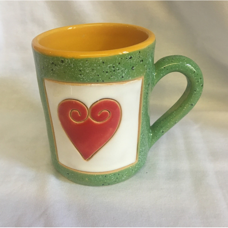 Mug ART small heart