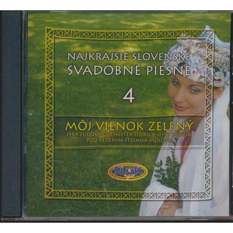 CD SĽUK Môj vienok zelený