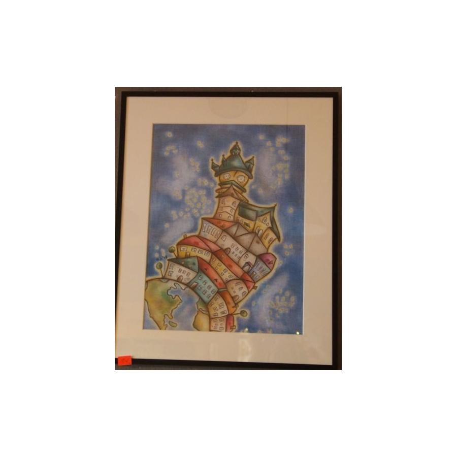 Obraz Kremnica (pastel)