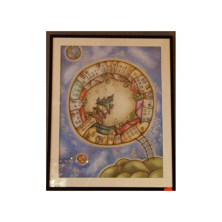 Obraz Kremnica 2 (pastel)