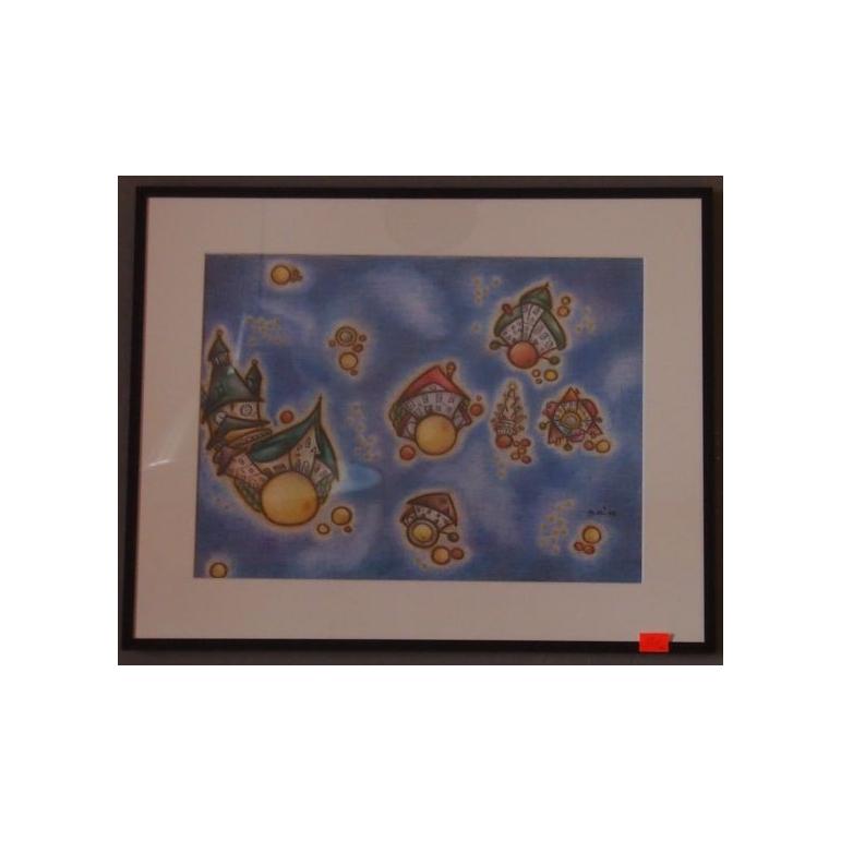 Obraz Kremnica 3 (pastel)