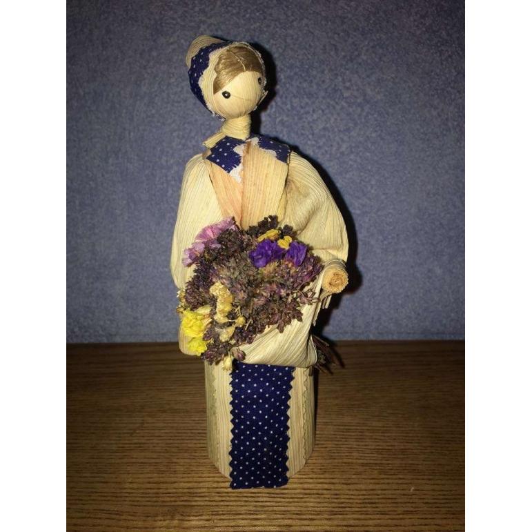 Corn husk doll - herbalist