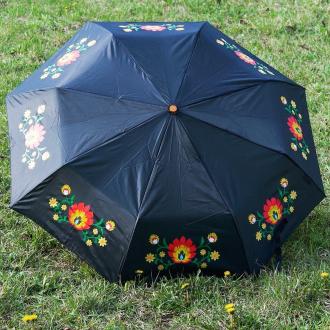 Dáždnik s folklórnym motívom
