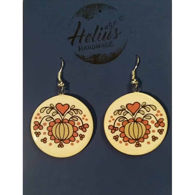 Earrings Folk Helius 3