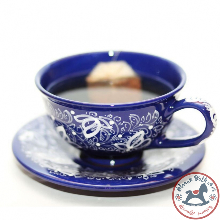 Cup big Kobalt