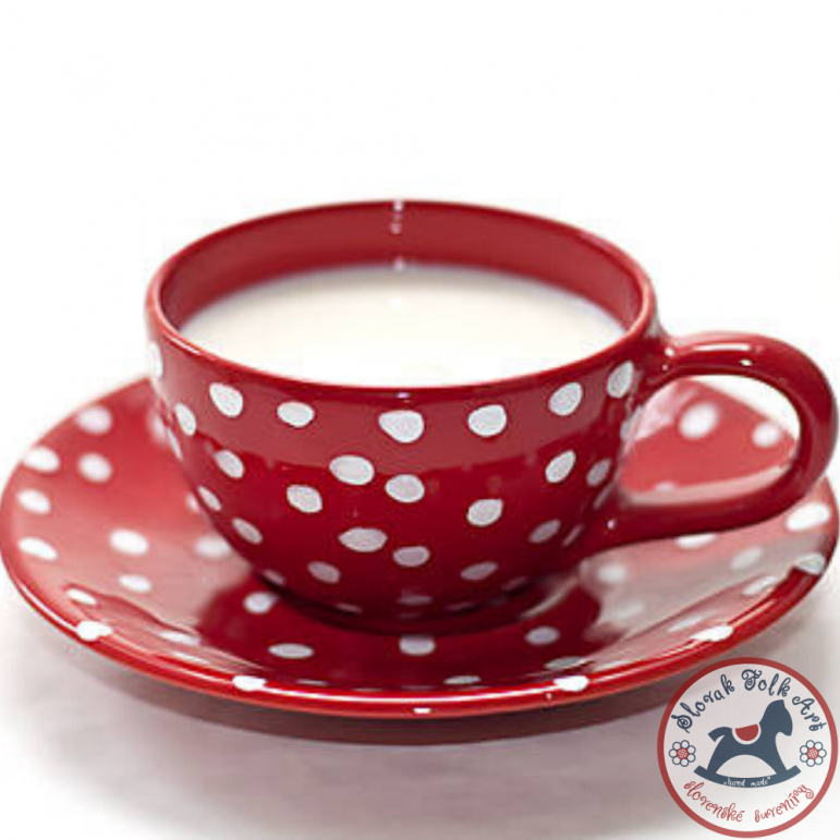 Cup Romantic red
