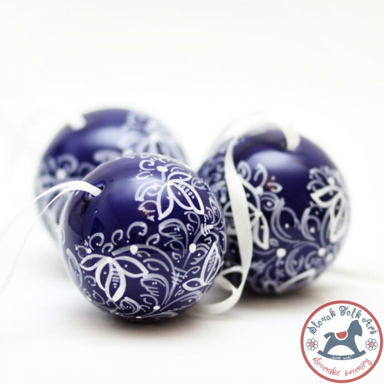 Christmas ball kobalt