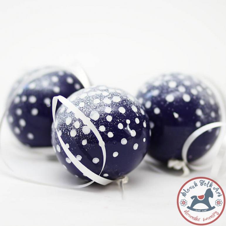 Christmas ball  snowy design
