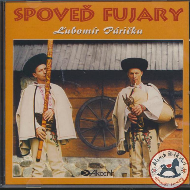 CD Slovak folk music -Lubomir Paricka