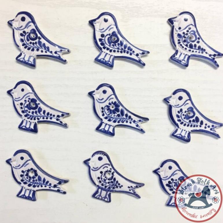 Bird majolica - plaque