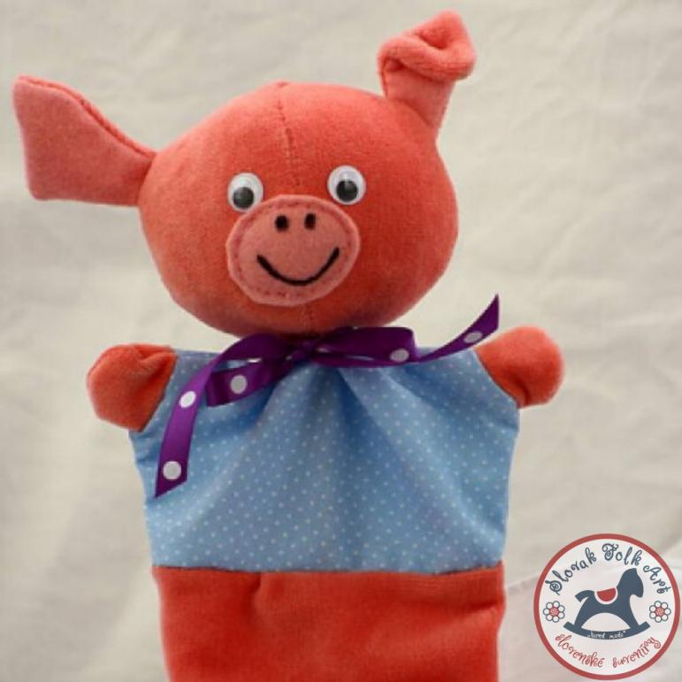 Hand puppet -pig