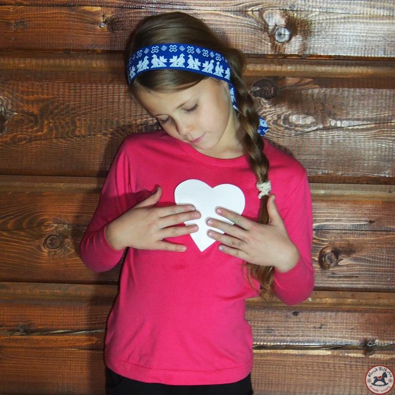 Detské pískacie tričko ružové