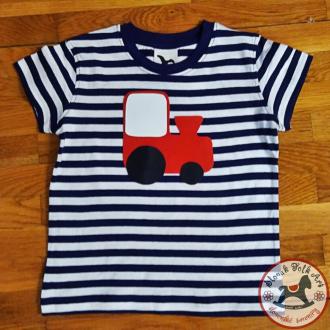 Detské pískacie tričko (zelený traktor)