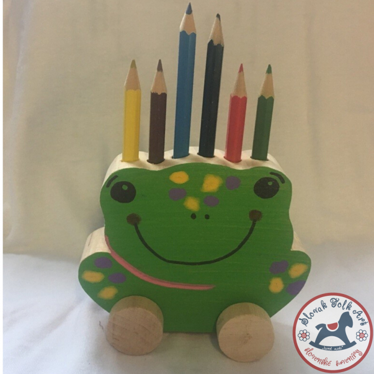Pencil stand - frog