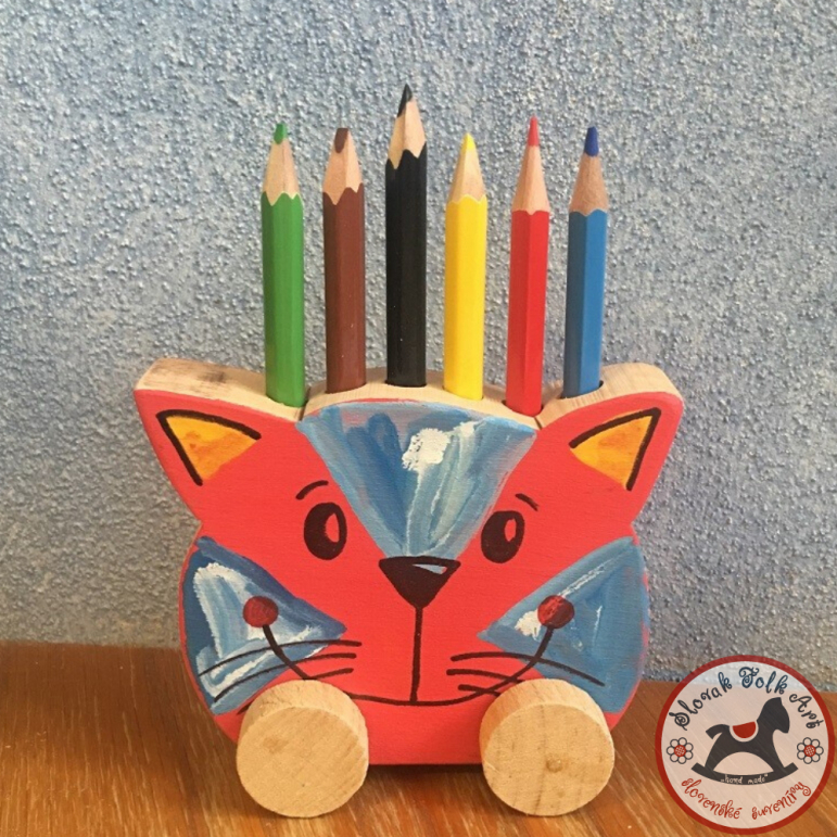 Pencil stand - cat