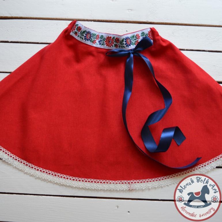 Sukňa Červená krása
