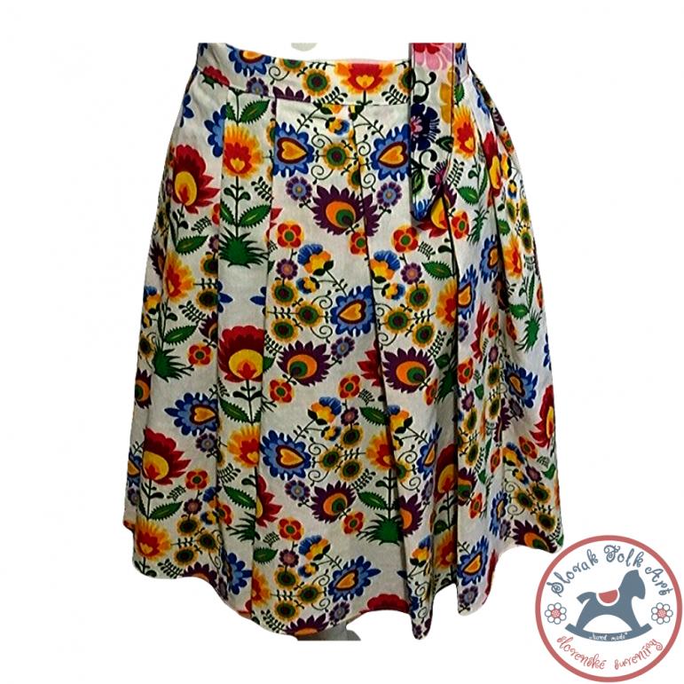 Skirt Folk Flowers