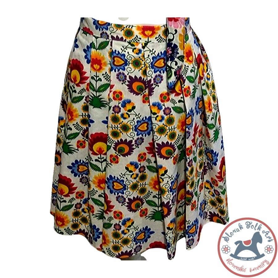 Sukňa Ľudové kvety
