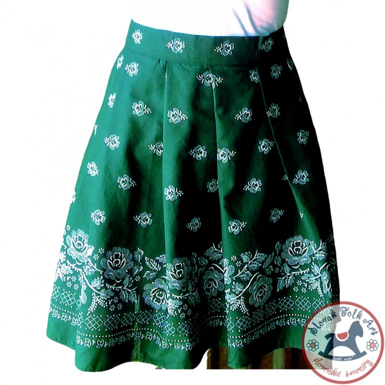 Skirt Folk Love (green)
