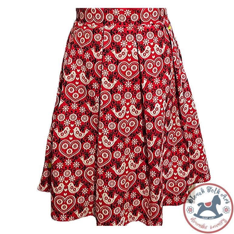 Skirt Birds (red)
