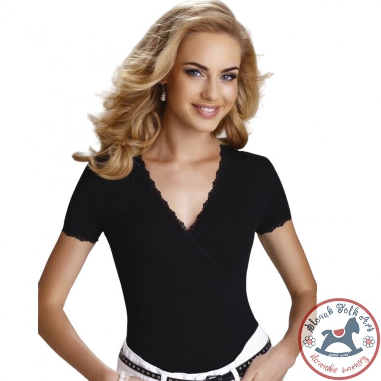Dámske tričko Dolly (čierne)