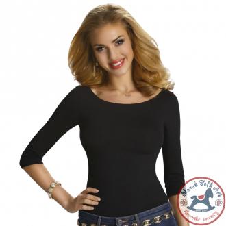 Dámske tričko Rita (čierne)