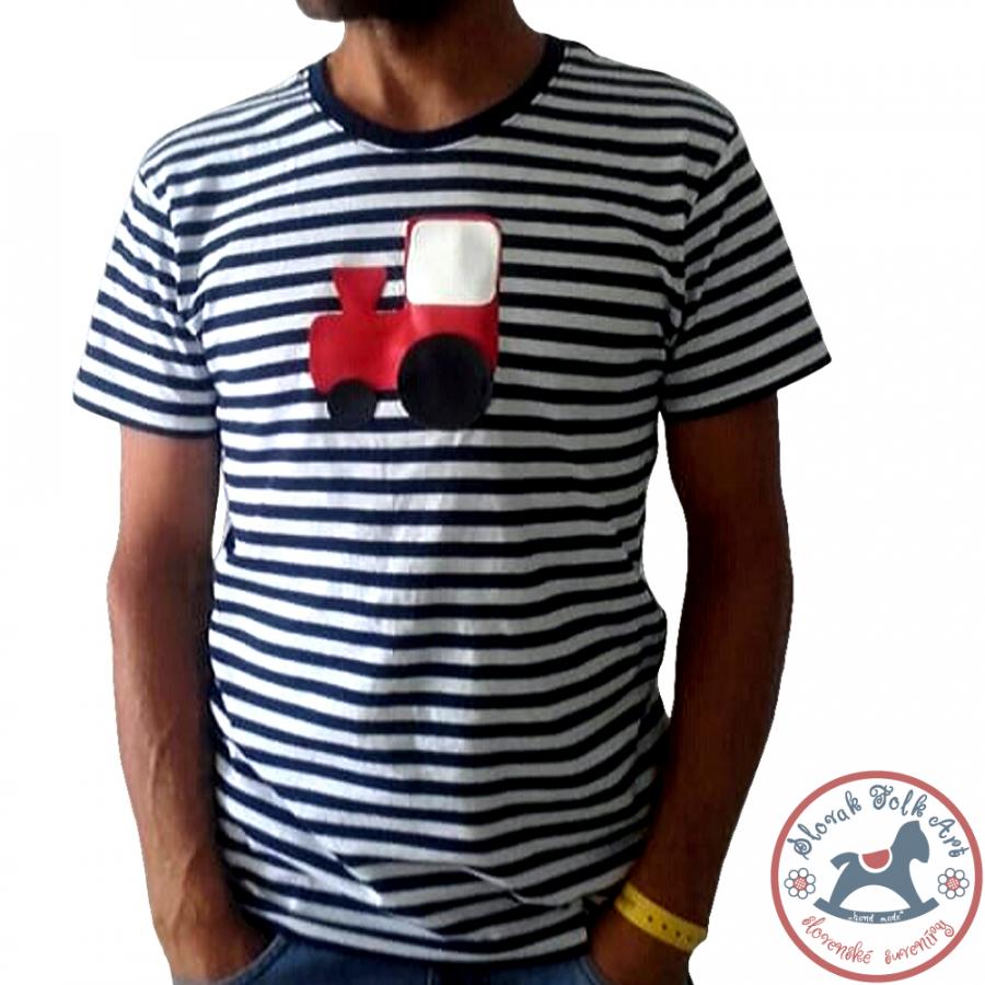 Men´s whistling T-shirt (red train)