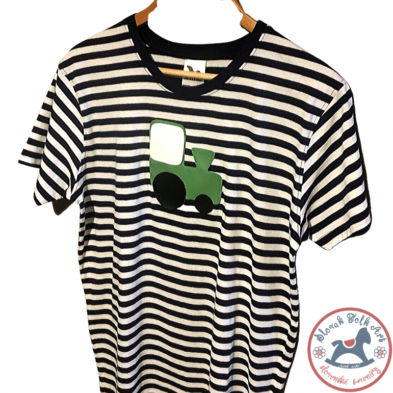 Men´s whistling T-shirt (green train)