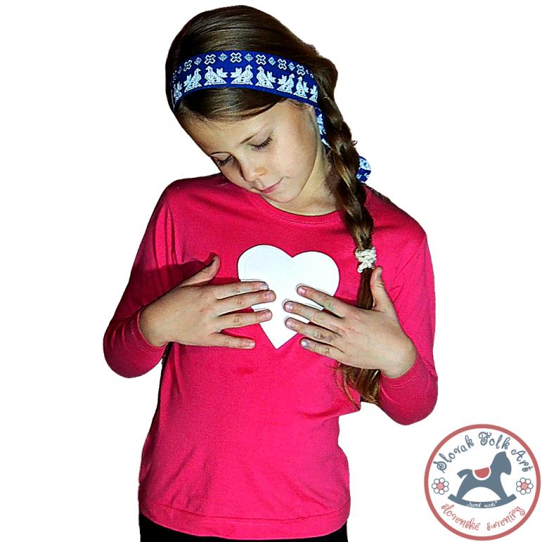 Children's whistling t-shirt - pink