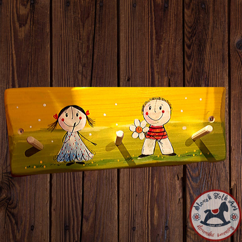 Hanger Children by Slončo (yelow)