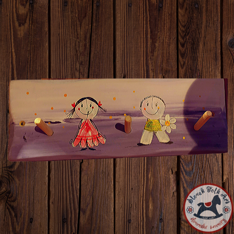 Hanger Children by Slončo (violet)