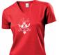 Dámske tričko Vtáčik (červené)