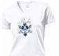 Dámske tričko Vtáčik (biele)