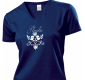 Women´s T-shirt with Bird (blue)