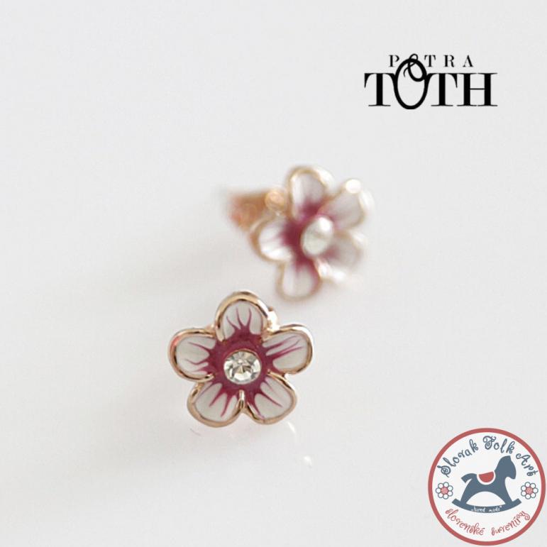 Earrings FOLKIE arrow rose Flowers of Telgárt
