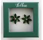 Earrings FOLKIE green...