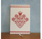 Notebook Red folk heart