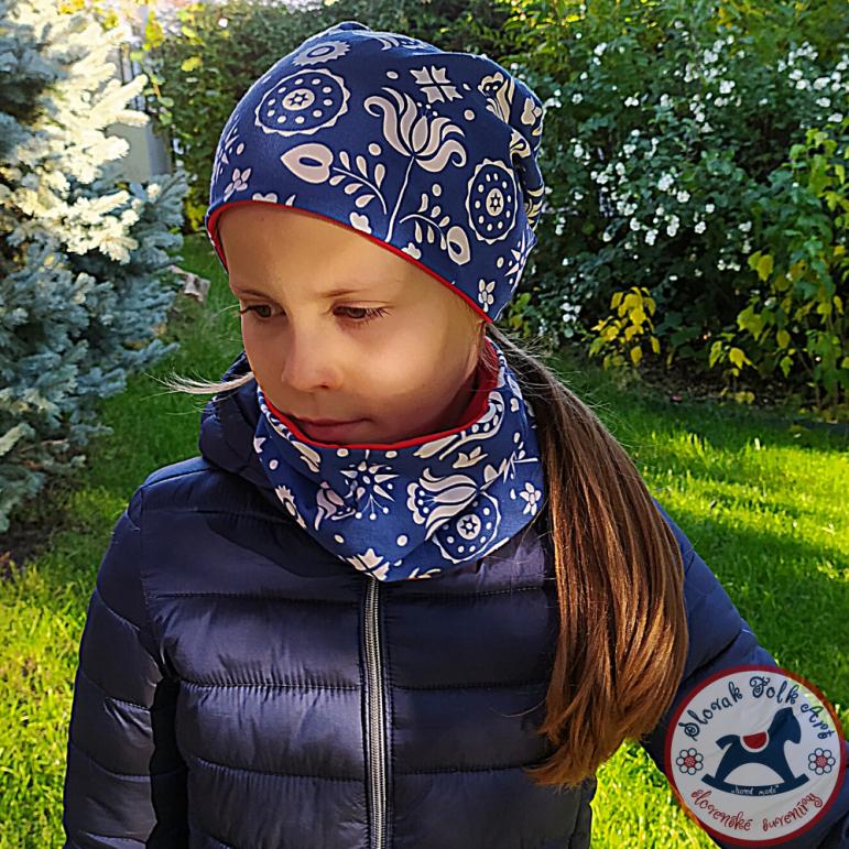 Cap and neckerchief Sára