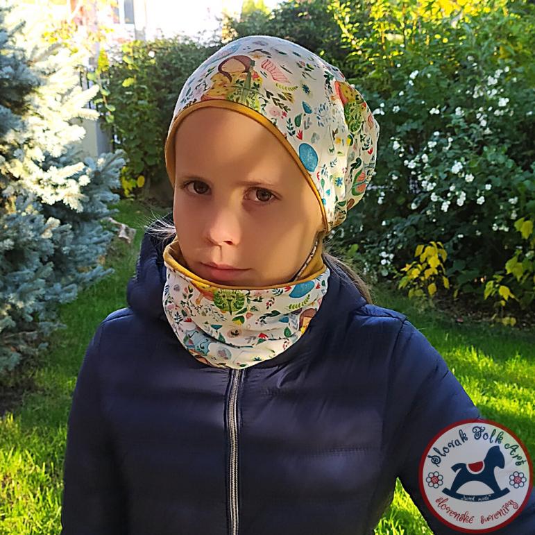 copy of Cap and neckerchief Sára