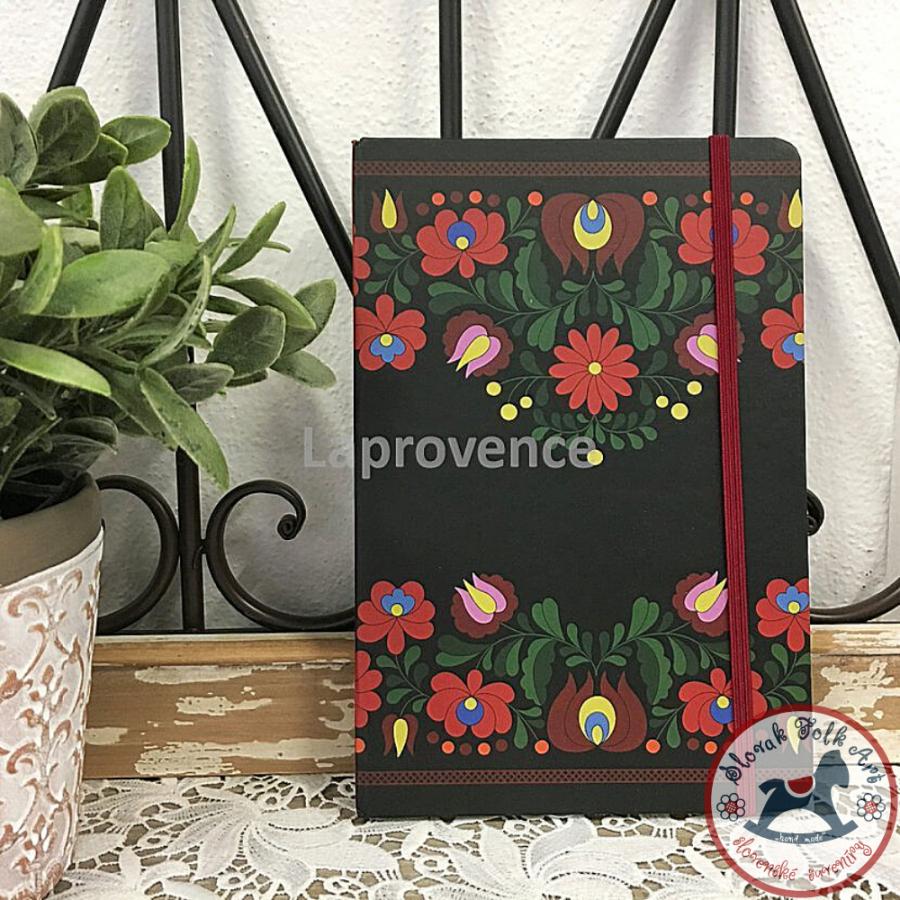 Zápisník Čierne kvety