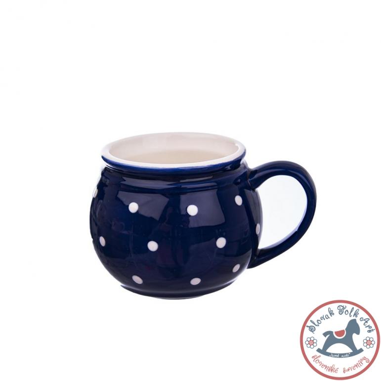 Mug blue with dots