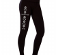 Thermo leggings with a folk...