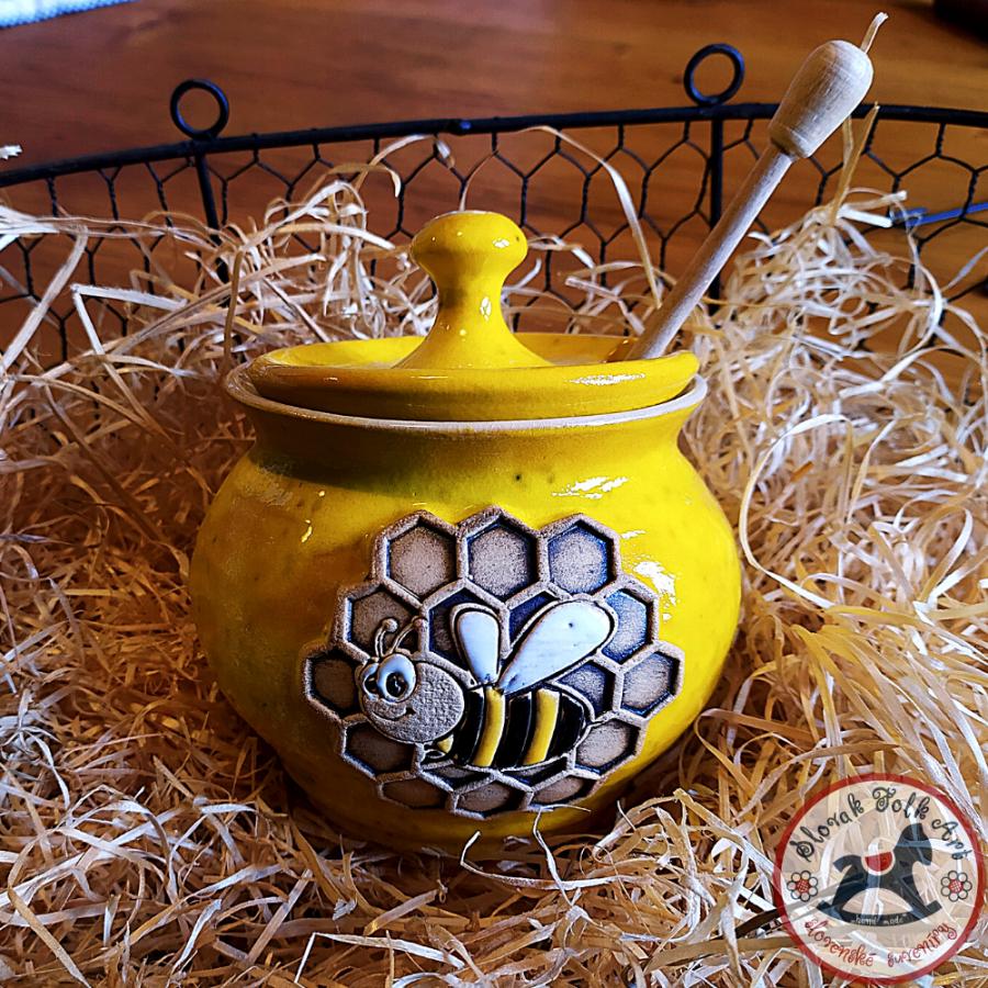 Meduška Maľovaný svet (žltá)